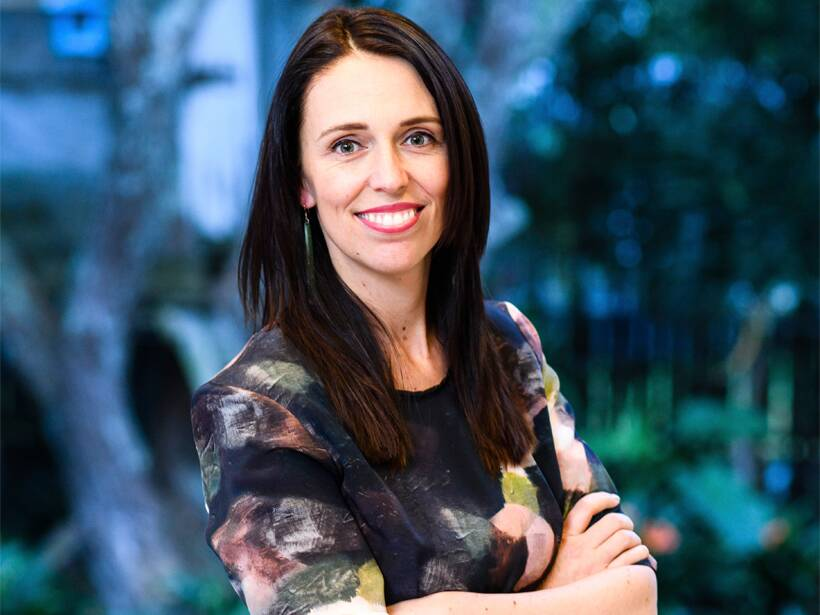 Prime Minister of New Zealand Jacinda Ardern, at her home in Auckland