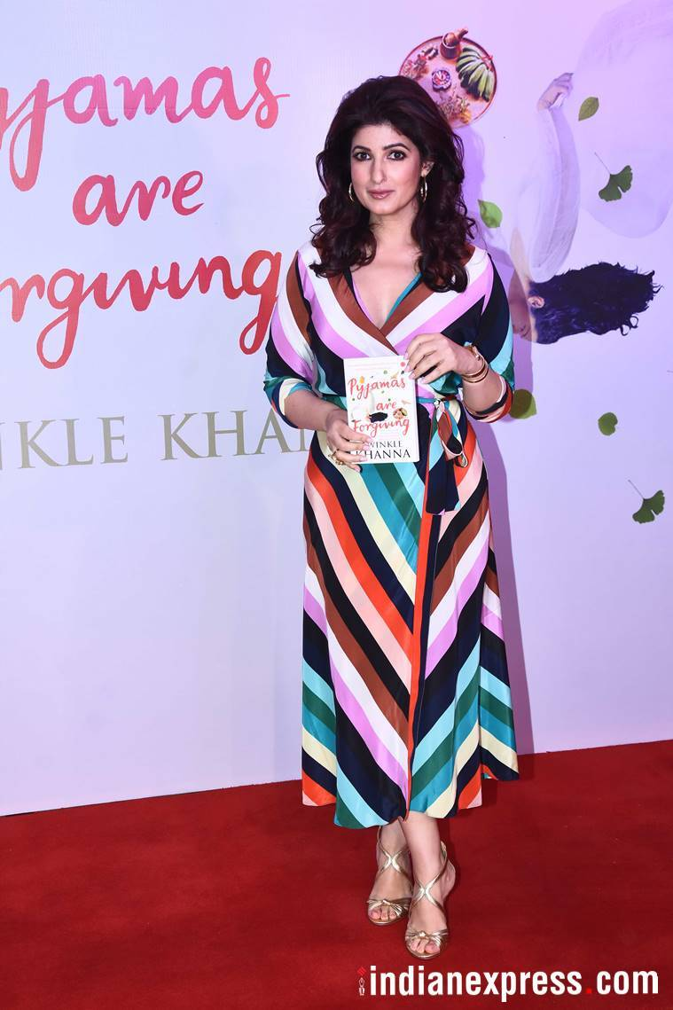 twinkle khanna at pyjamas are forgiving book launch