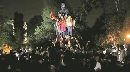 Delhi University Students' Union polls: ABVP bags 3 of 4 posts after day of drama