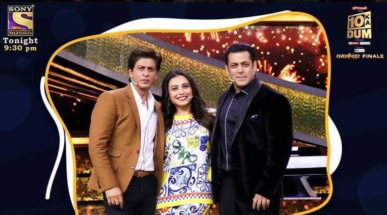 shah rukh khan and salman khan in dus ka dum