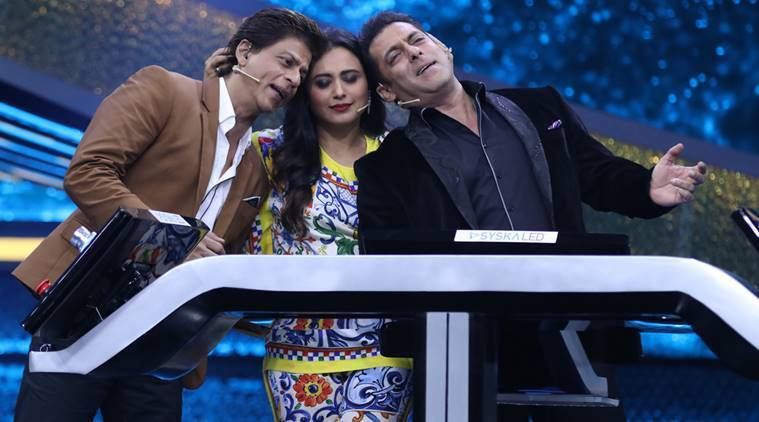 Dus Ka Dum finale LIVE UPDATES: Shah Rukh Khan descends on Salman Khan's show