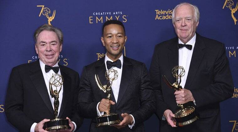 John Legend, Andrew Lloyd Webber, Tim Rice