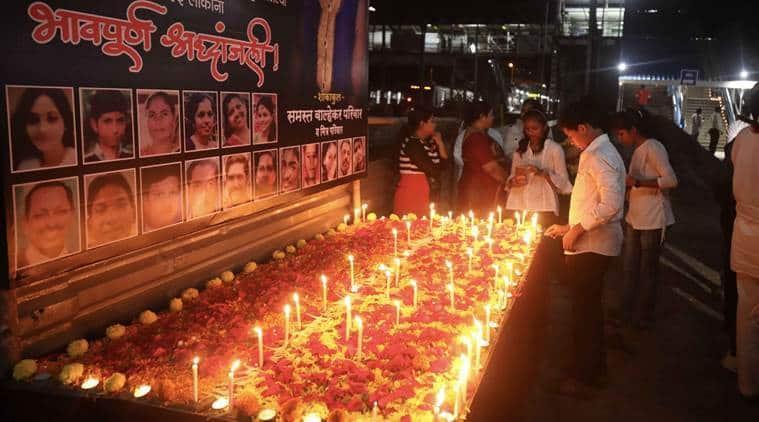 elphinstone stampede anniversary, stampede anniversary, Elphinstone Road station, Mumbai station, India News, Indian Express