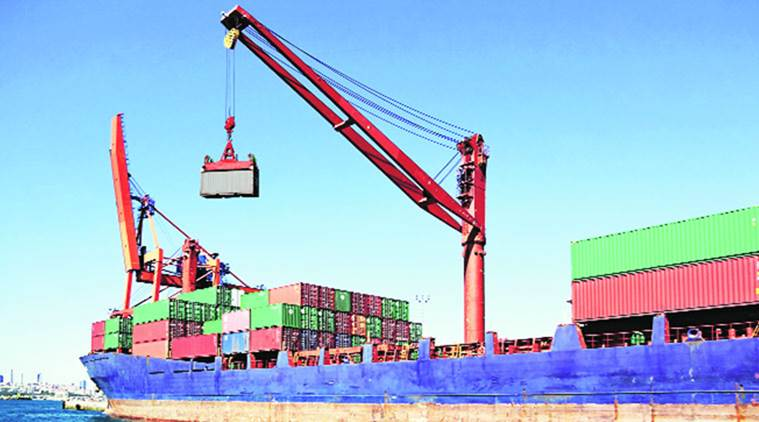 india export, india export growth, Merchandise exports, trade deficit, business news, Indian express