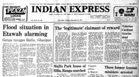 September 12, 1978, Forty Years Ago: Yamuna rampage