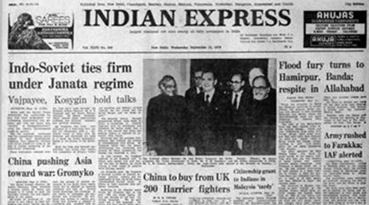 September 13, 1978, Forty Years Ago: Chinese threat