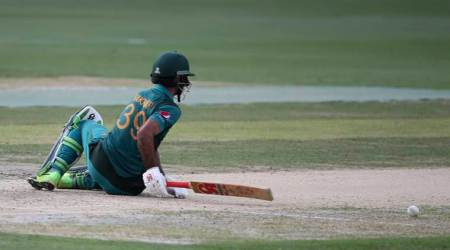 India vs Pakistan, Asia Cup 2018: Fakhar Zaman trips to fall over, given lbw; watchvideo
