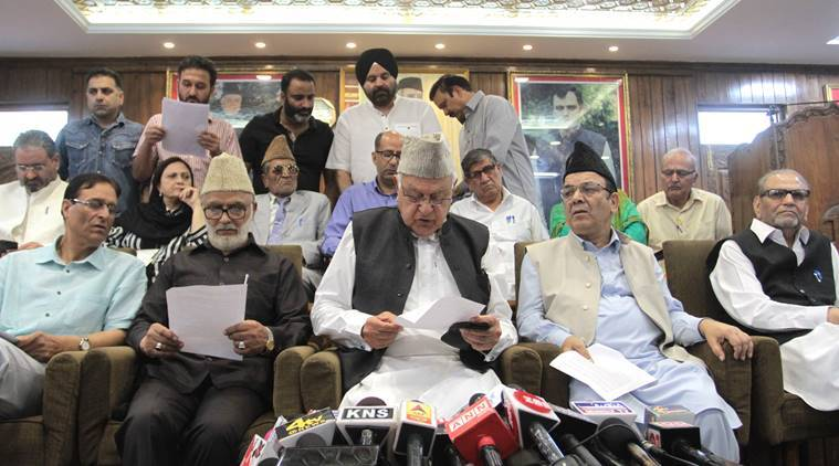 Won't take part in J-K local polls till Centre clarifies position on Article 35 A: National Conference