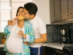 Can the father's diet affect his child's health?