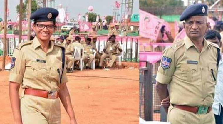 Many Female Cops of Hyderabad feels excited working together