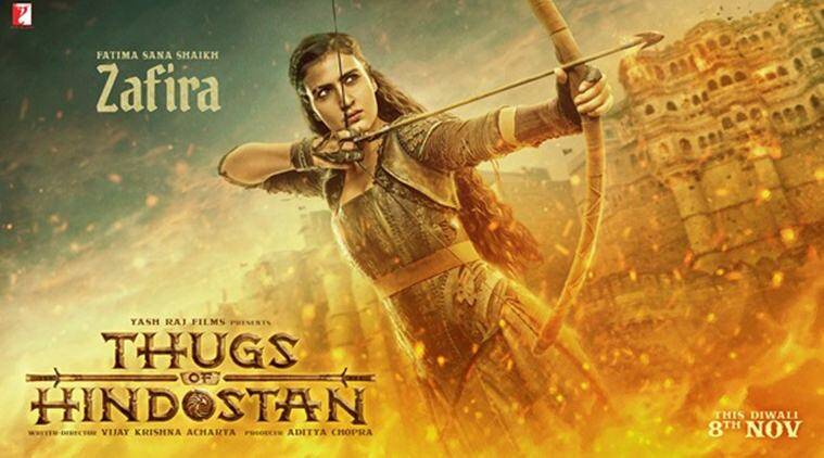 fatima sana shaikh in thugs of hindostan