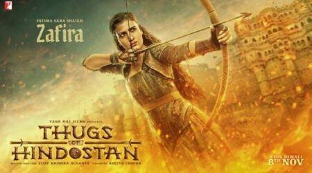 Thugs of Hindostan: Fatima Sana Shaikh's rugged look as Zafira cannot be missed