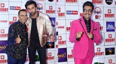 Ranbir Kapoor, Ranveer Singh attend Yogesh Lakhani's birthdaycelebration