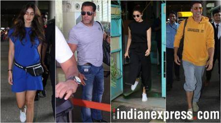 Celeb spotting: Anushka Sharma, Disha Patani, Salman Khan, Akshay Kumar and others