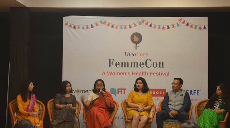 women's health, FemmeCon, women's diseases, menstruation, periods, sexual health, mental health, health news, Indian Express