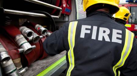 London: Fire breaks out at primary school inDagenham