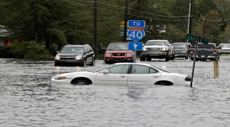 Hurricane Florence raises flooding fears; Wilmington cut off