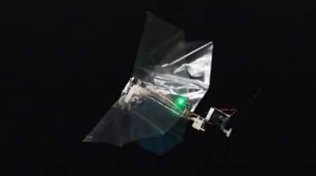 Novel insect-inspired flying robotdeveloped