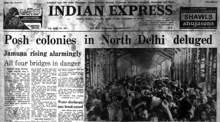Forty Years Ago, September 6, 1978: Delhi Floods