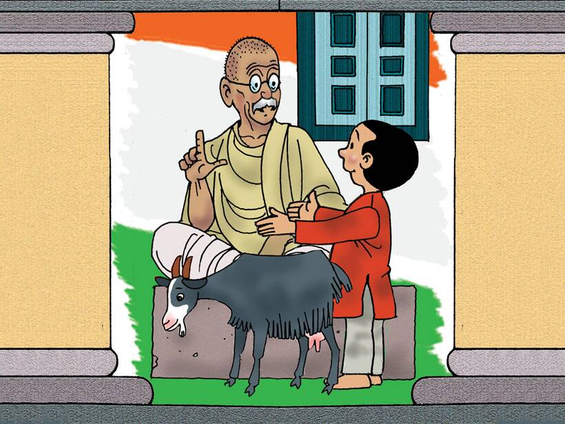 Gandhi Jayanti story for kids: Marching to Freedom by
