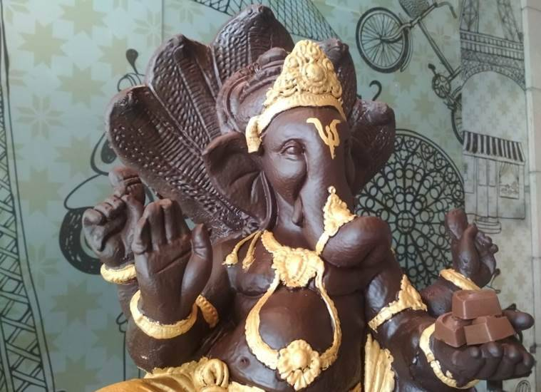 Ludhiana-based restaurateur prepares chocolate Ganpati to promote eco-friendly Ganesh Chaturthi