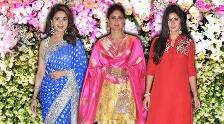 Mukesh Ambani's Ganesh Chaturthi bash: Kareena, Katrina, Madhuri, and others arrive in style