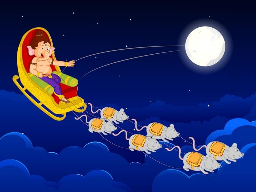 Happy Ganesh Chaturthi, ganesha story