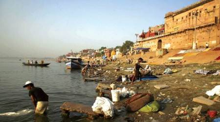 '66 of 97 towns along Ganga have at least one drain flowing into river'