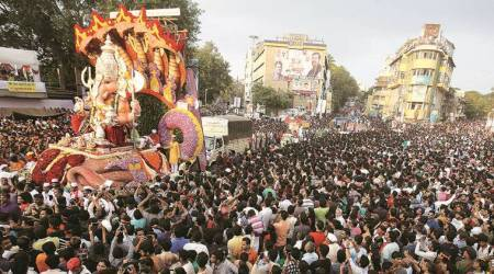 Ganesh immersion procession in city concludes after 26 hours, 36 minutes