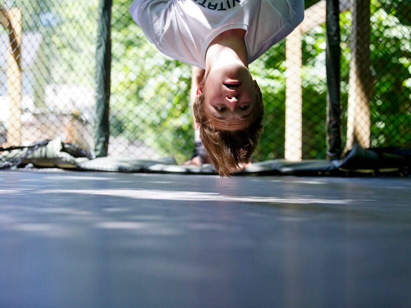 garden trampoline, gtramp