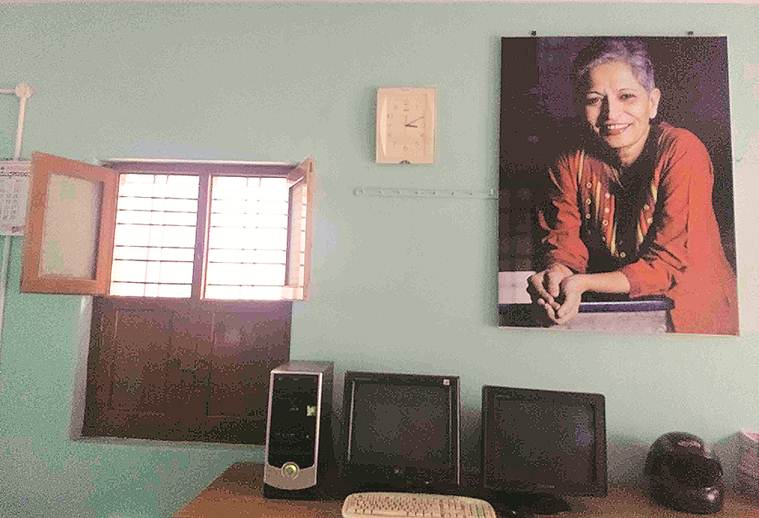 gauri lankesh, gauri lankesh murder, Parashuram Waghmare, gauri lankesh death, who killed gauri lankesh, gauri lankesh murder probe, gauri lankesh office, Indian express