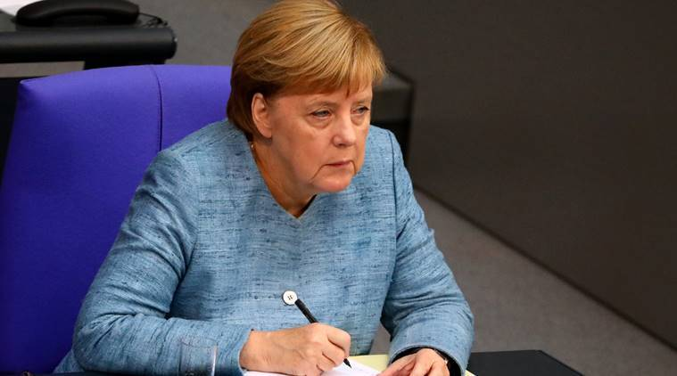 German leader Merkel on her way to G20 after plane problem