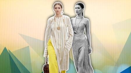 New York Fashion Week: Gigi Hadid's Oscar de la Renta outfit resembles the Indian kurta-pyjama