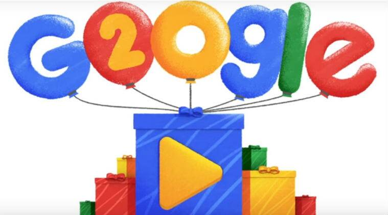 Google's 20th Birthday, Google 20th anniversary, Google Doodle, 20 years of Google, what it today's Google Doodle, history of Google, Google 20 years doodle, how old is google, evolution of Google