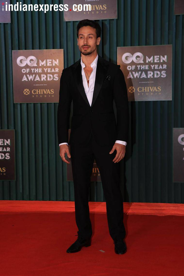 tiger shroff gq awards photos
