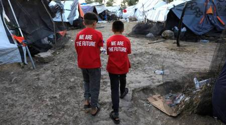 Child refugee arrivals on Greek islands soar, camp conditions dire – UN