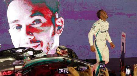 'Spent' Lewis Hamilton soaks up special victory in Singapore