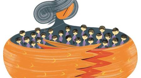 According to the new Act, the CWC's responsibilities include taking cognizance of and receiving children produced before it, ensuring their rehabilitation and restoration, and taking action for rehabilitation of sexually abused children, among others. Illustration: C R Sasikumar