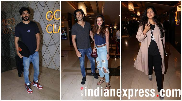 Harshvardhan Kapoor, Mohit Marwah and wife, and also Rhea Kapoor