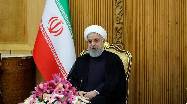iran, hassan rouhani, iran president, iraq, united states, donald trump, trade ties, us sanctions, baghdad, tehran, energy, transport, agriculture, syria, yemen, world news, indian express news