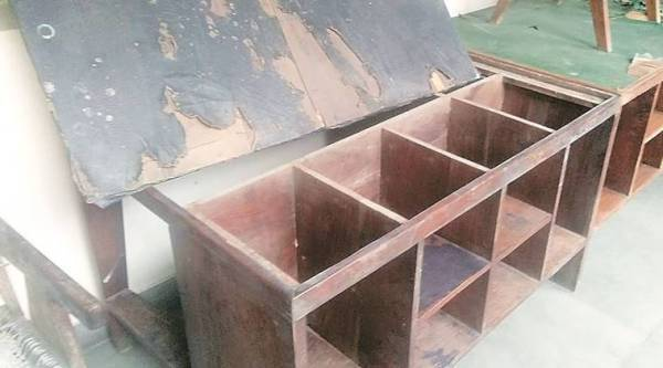 Contrary to Instructions Punjab officials got two heritage tables repaired by local carpenters