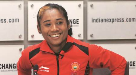 Before a race, all I see are the two white lines and I just run, says Hima Das