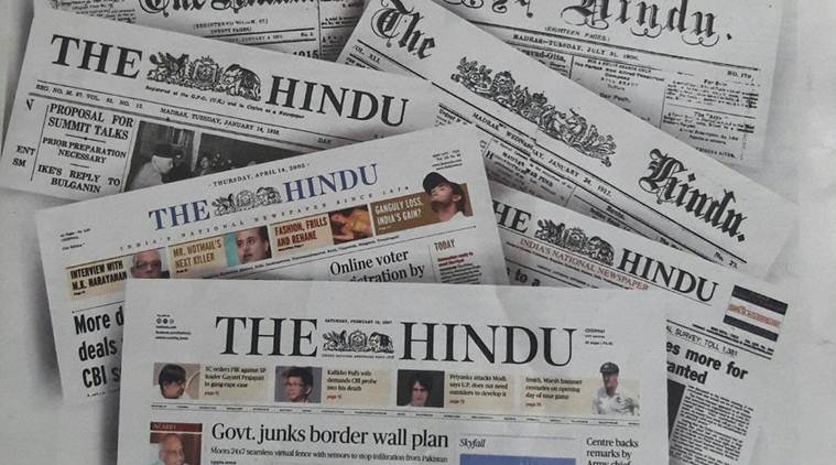 Did you know The Hindu started as a weekly 140 years back