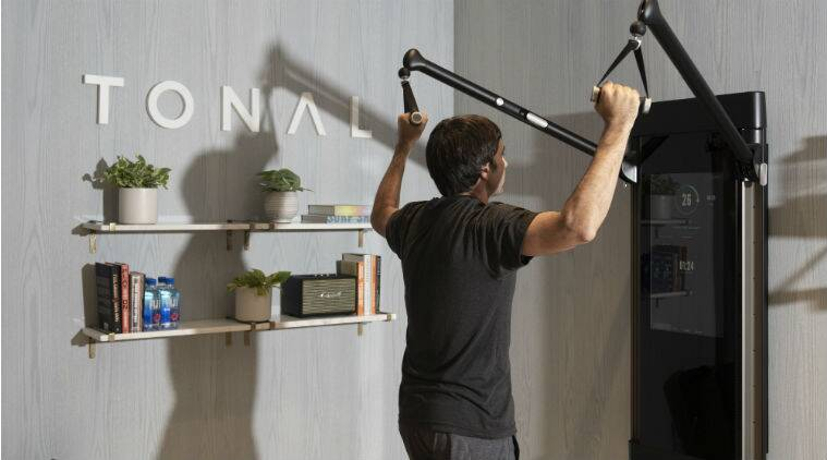 home fitness, home fitness machines, wall weightlifting machine, Tonal, Silicon Valley, The Mirror