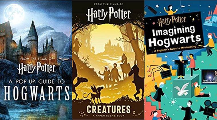 A Pop-Up Guide to Hogwarts by Matthew Reinhart, Creatures: A Paper Scene Book, Imagining Hogwarts: A Beginner's Guide to Movie Making, harry book, new book release, before christmas, indian express, indian express news