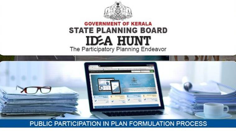 Kerala government, Idea hunt, public participation in planning process, Pinarayi Vijayan, Online system to suggest ideas, Kerala, India News, Indian Express