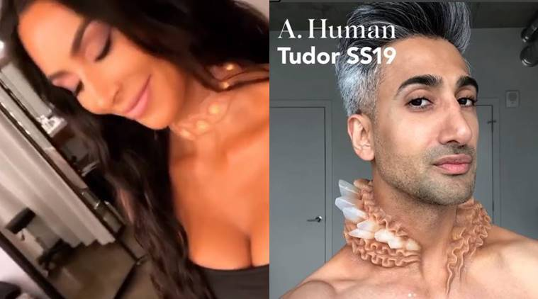 a. Human, body modificants, accessories that look like implants, Kim Kardashian, Chrissy Teigen, Tudor, New York Fashion Week, indian express, indian express news