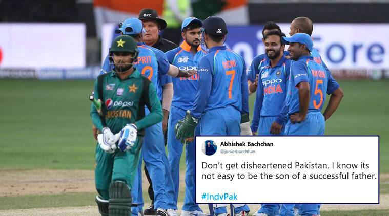 india vs pakistan, ind vs pak, asia cup, ind vs pak memes, ind pak jokes, pakistan india, rohit sharma, Bhuvneshwar Kumar, asia cup, asia cup 2018, cricket news, sports news, indian express,