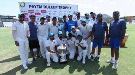 India Blue trounces India Red to win Duleep Trophy
