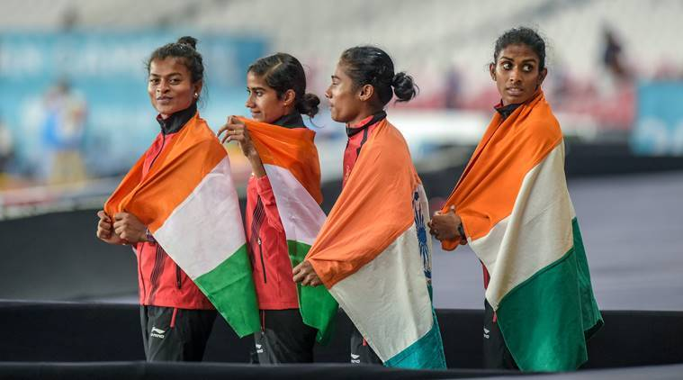 asian games relay india